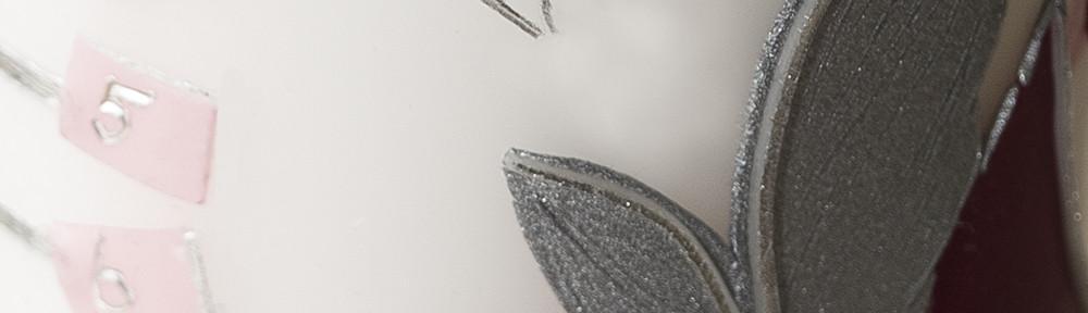Verwendung von Silbermatt und Silberglanz-Wachs